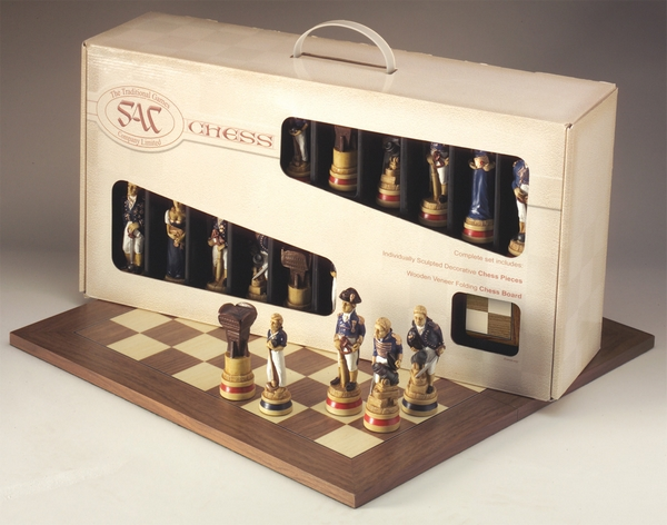 Presentation Case Themed Chess Sets