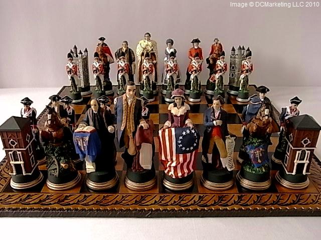 Civil War Chess Sets American Civil War Chess Set