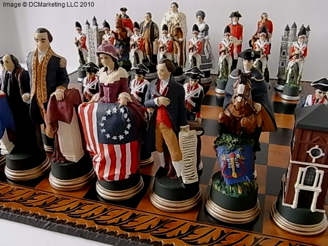 Decorated Theme Chess Pieces