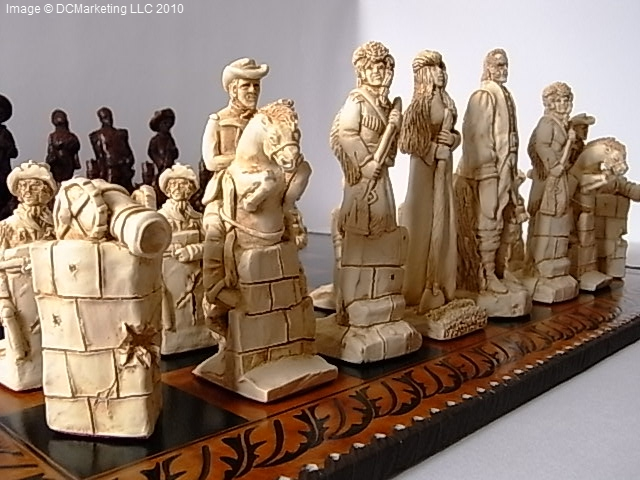 Alamo Chess Alamo Chess Pieces Alamo Chess Set Alamo