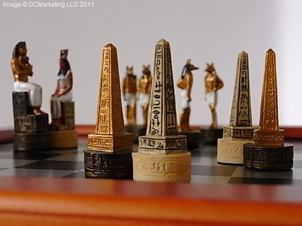 Egyptian Themed Chess Egyptian Theme Chess Egyptian