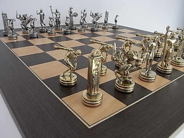 Metal Themed Chess Sets High Quality