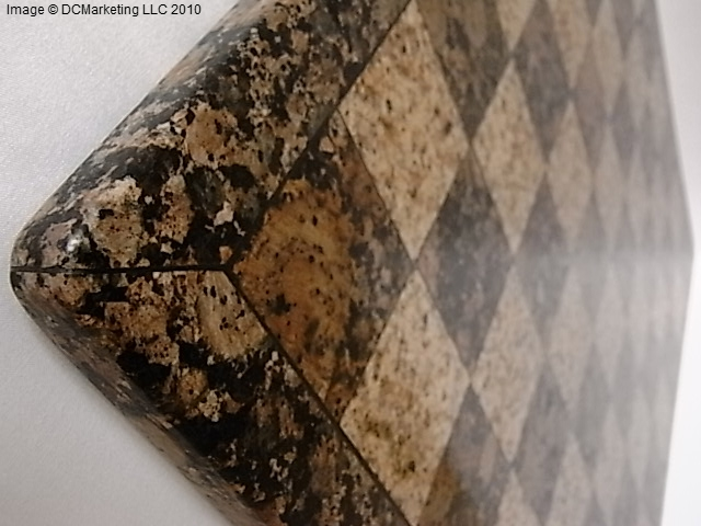 Solid granite chess board - Granite chess pieces ...