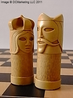 Masked Plan Theme Chess Set