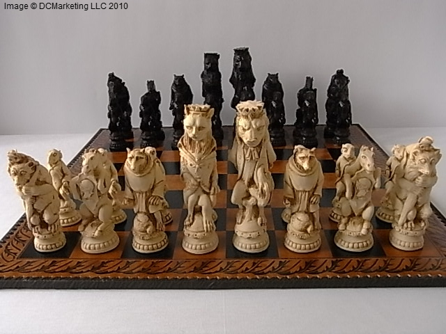 Reynard The Fox Chess Reynard The Fox Chess Set