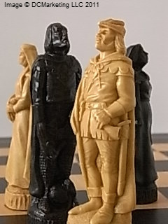 Robin Hood Plain Theme Chess Set