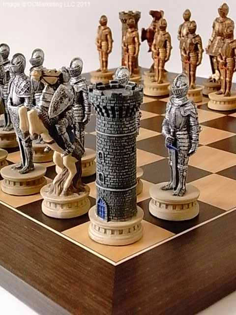 Decorative chess set war chess sets battle chess set - Ornate chess sets ...