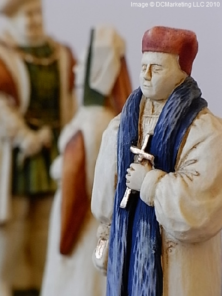 Henry VIII Hand Painted Theme Chess Set