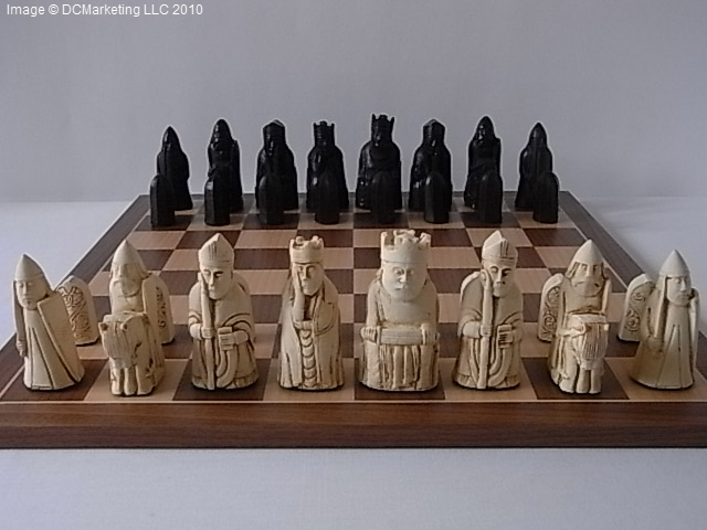 Isle of Lewis Theme Chess Pieces