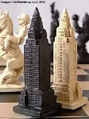 New York (Limited Edition) Plain Theme Chess Set