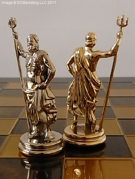 Top Metal Themed Chess Sets - High Quality IJ11