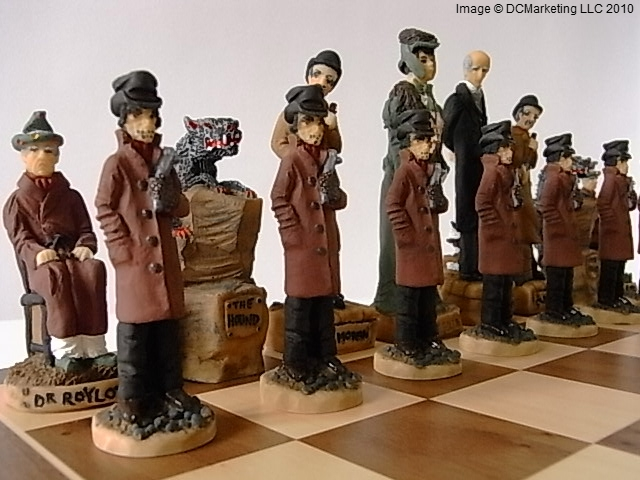 Sherlock Holmes Hand Painted Theme Chess Set